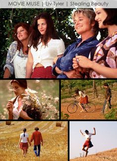 Liv Tyler Stealing Beauty Style-movie muse style