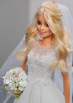 1..6/ sammurakammi Barbie Top, Barbie Model, Barbie Dress, Barbie Bridal, Barbie Wedding Dress, Sewing Barbie Clothes, Barbie Clothes Patterns, Barbie Tumblr, Barbie Fashionista Dolls