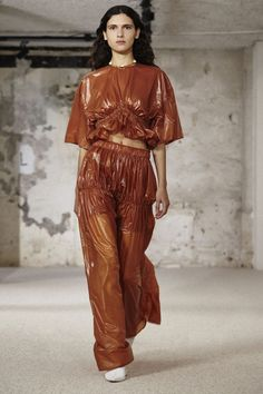 Ellery Spring/Summer 2018 Ready To Wear | British… - This Top Vouge Fashion just sold on Wrhel.com Want to know what she paid for it? Check it out.