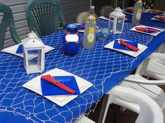 Nautical Baby Shower Party Ideas   Photo 9 of 12   Catch My Party