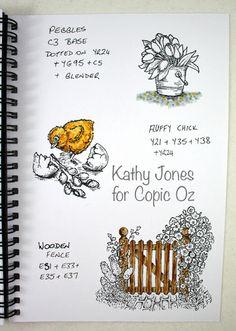 copic oz: Copic Technique Journal #5 - Textures!