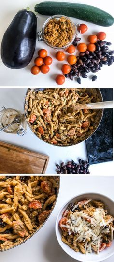 Red Pesto Pasta with