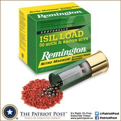 Remington's new ISIL 12GAUGE 00BUCK LOADS - a nod to Blackjack Pershing
