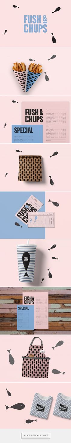Fush & Chups Restaurant Branding by Brandon McIntosh | Fivestar Branding Agency – Design and Branding Agency & Curated Inspiration Gallery