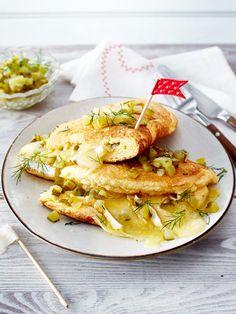 Käse-Schaumomelett