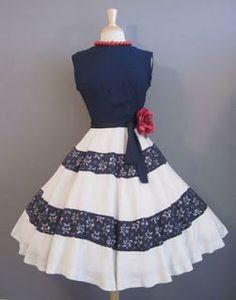 Lesjoliesmoules: Vintage dress '50