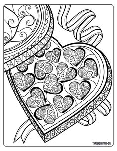 4 free adult coloring pages for Valentine's Day that will bring out your inner child