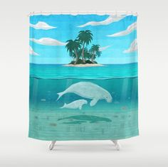 This calming shower curtain.