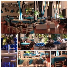Festa de 15 anos sem flores! Sweet Fifteen, Sweet 16, Blue Wedding, Event Decor, Ideas Para, Wedding Events, Marriage, Entertaining, Table Decorations