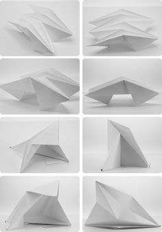 Motif Reflexion No3 Ancrages Varies Architecture ModelsFolding ArchitectureTiny HouseOrigami DesignSearchingPaper
