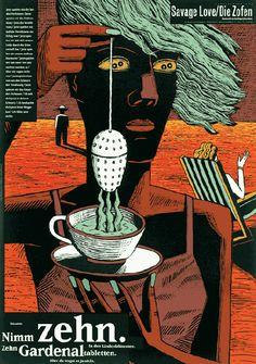 Henning Wagenbreth, Savage Love / Die Zofen, 1991
