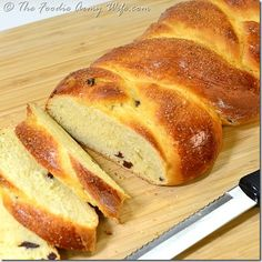Portuguese Sweet Bread from TheFoodieArmyWife.com