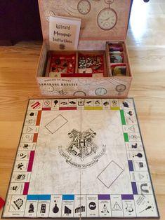 Harry Potter Monopoly - Homemade