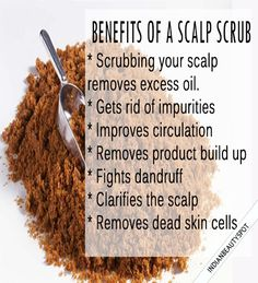 Benefits and How to Exfoliate your Scalp - ♥ IndianBeautySpot.Com ♥