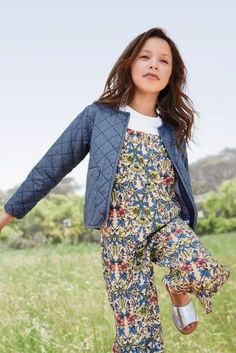 Denim Quilted Jacket (3-16yrs)