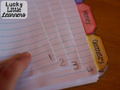 Interactive Notebook Series (Part Two): Grading & Rubric - Lucky Little Learners