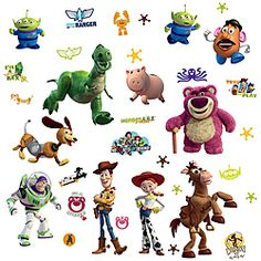 @Overstock - Adorn your child's room with their favorite characters from Toy Story 3 with these wall decals from RoomMates. These glow in the dark decals are removable and re-positional with no sticky residue.http://www.overstock.com/Baby/RoomMates-Glow-in-the-Dark-Toy-Story-3-Peel-and-Stick-Wall-Decals/6682351/product.html?CID=214117 $14.49