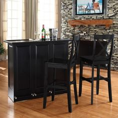 Crosley Home Bar Set $638.00 by AllModern
