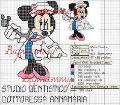 Minnie Mouse x-stitch doctor