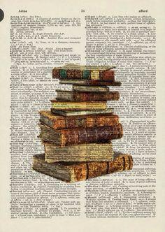 Dictionary Art - Book