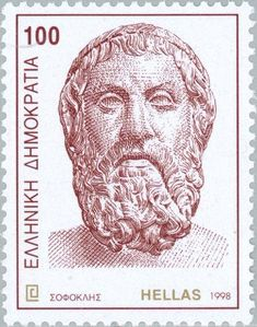 Sophocles (dramatist) B. Old Greek, Ancient Greek, Ex Yougoslavie, Important People, Stamp Collecting, Postage Stamps, Greece, Gallery, Authors