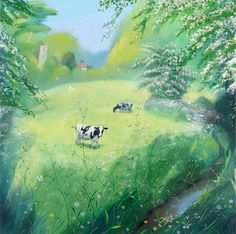 Cows in May  Nicholas Hely Hutchinson