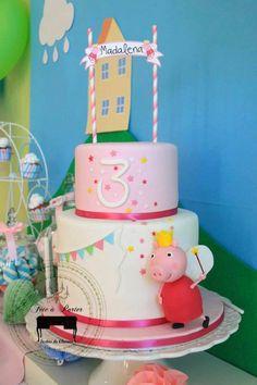 peppa cake pops - Buscar con Google