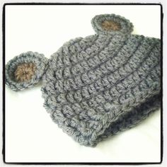 Newborn Crochet Hat Pattern