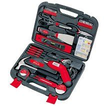 153 Piece Small Project Tool Kit By Apollo Tools Household Tools Tools Tool Kit