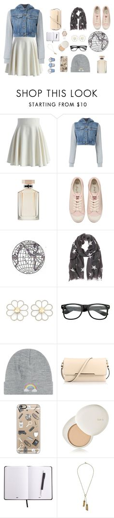 """Untitled #755"" by m-gorodetskaya ❤ liked on Polyvore featuring Chicwish, Moschino, STELLA McCARTNEY, Juicy Couture, Cheap Monday, Local Heroes, Christian Louboutin, Casetify, MELIN and lilah b."
