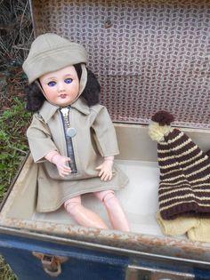 Antique Doll Bleuette Mold Unis France 301 1 1 4 Circa 1946 50 Attic Condition | eBay