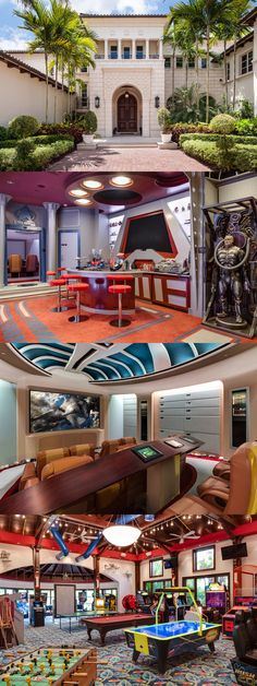 Former CEO of the networking site FriendFinder Marc Bell is selling his gorgeous Star Trek-themed mansion.