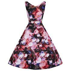 Image result for 50s swing dress