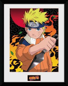 Naruto - Naruto - Big Framed Collector Print