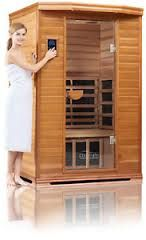 The Clearlight Premier Two Person Far Infrared Basswood Sauna offers an elegant solution for all your home sauna needs.