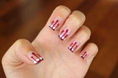 Bloody nails!   #happyhalloween! #halloween #nailart #naildesign #nails #naildesigns #art #artist #blood   www.AmberLynnHeltonNails.blogspot.com