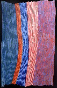 Ray Ken - Tali - Sand dune - 152x122 cm - 452-15 http://www.aboriginalsignature.com/art-aborigene-tjala/ray-ken-tali-sand-dune-152x122-cm-452-15