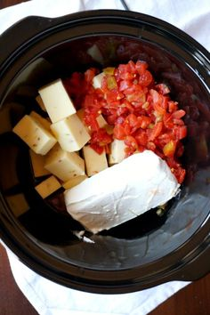 Low carb, use cream instead of milk. Uses pepper Jack cheese and cream cheese. No velveeta. Queso dip