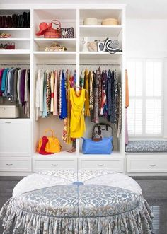 How beautiful is this. Of course, we all have sooooo many more clothes than this?