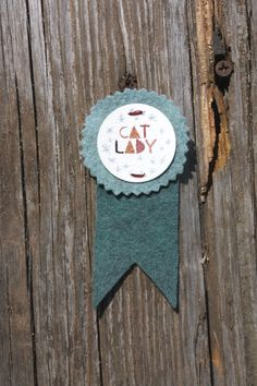 Cat lady ribbon