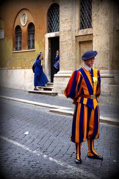 Vatican Swiss Guard, Rome, Italy