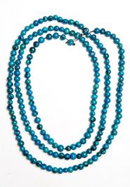 Brightly Colored Acai Rope Necklace (Turquoise) by Noonday Collection made with love in Ecuador