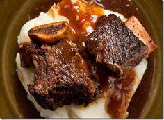 Pressure Cooker Cola Braised Beef Short Ribs.
