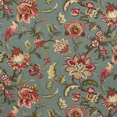 Art Floral, Fabric Wallpaper, Nature Wallpaper, Textile Patterns, Print Patterns, Folk Print, Chintz Fabric, Floral Printables, Art Deco Pattern