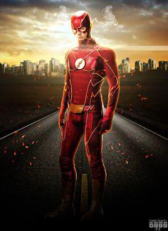 Flash New Suit by Timetravel6000v2.deviantart.com on @DeviantArt
