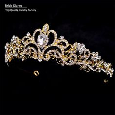 bride tiaras for wedding women wedding hair accessories  tiaras and crowns hair…