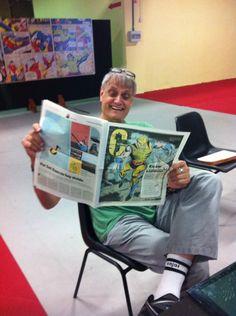 Lamentamos la muerte de un genio a quien tuvimos la suerte de conocer en @MetropoliGijon DEP #HerbTrimpe