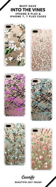 30 Most Popular Into The Vine iPhone 8, iPhone 8 Plus, iPhone 7 Cases and iPhone 7 Plus Cases. Shop them here ☝️☝️☝️ BEAUTIFUL BUT TOUGH ✨ - vintage, floral, flower, vines #iphone6splus,
