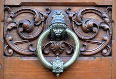 Barcelona door knocker