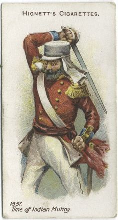 Arms & Armour - 50 - An Officer of Infantry - 1857. Time of Indian Mutiny.
